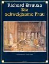 Die Schweigsame Frau Op. 80 Richard Strauss Partition laflutedepan.com