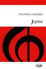 Jephte - Giacomo Carissimi - Partition - Chœur - laflutedepan.com