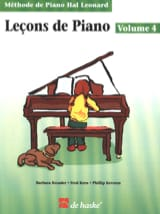 Kreader / Kern Jerome / Keveren - Piano Lessons Volume 4 - Sheet Music - di-arezzo.co.uk