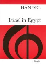 Georg-Friedrich Haendel - Israel En Egypte - Partition - di-arezzo.fr
