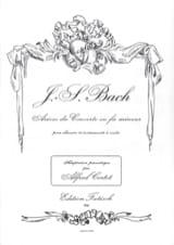 Arioso Du Concerto En Fa Mineur BWV 1056 BACH laflutedepan.com