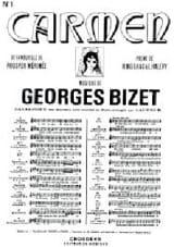 Georges Bizet - Avec la Garde Montante. Carmen - Partition - di-arezzo.fr