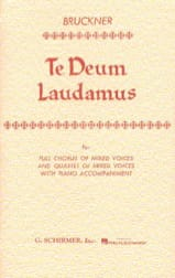 Anton Brückner - Te Deum Laudamus - Sheet Music - di-arezzo.co.uk