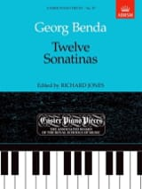 12 Sonatines. Georg Benda Partition Piano - laflutedepan.com