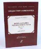 2 Sonates Pour le Forte Piano Op. 1. laflutedepan.com