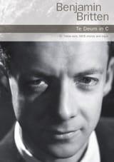 Te Deum En Ut Majeur Benjamin Britten Partition laflutedepan.com