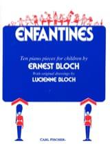 Ernest Bloch - Enfantines - Partition - di-arezzo.fr