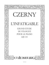 L'infatigable Op. 779 CZERNY Partition Piano - laflutedepan.com