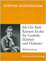 Johann Christian Bach - Concerto En Mi Bémol Majeur - Partition - di-arezzo.fr
