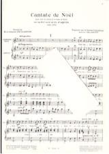 Cantate de Noël Louis-Claude Daquin Partition Chœur - laflutedepan.com