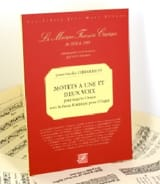 Louis-Nicolas Clérambault - Motets A 1 and 2 Voice - Sheet Music - di-arezzo.co.uk