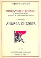 Un Di All'azzuro Spazio. Andrea Chénier laflutedepan.com
