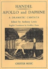 HAENDEL - Apollo And Daphne - Sheet Music - di-arezzo.co.uk