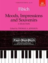 Zdenek Fibich - Moods, Impressions And Souvenirs - Partition - di-arezzo.fr