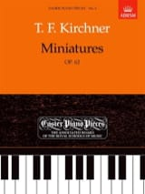 Theodor Kirchner - Opus 62 Thumbnails - Sheet Music - di-arezzo.co.uk