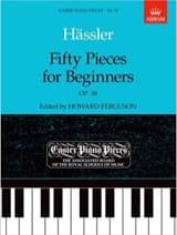 50 Pieces For Beginners Op. 38. Epuisé laflutedepan.com