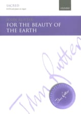 John Rutter - For The Beauty Of The Earth - Sheet Music - di-arezzo.co.uk
