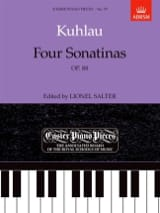 Friedrich Kuhlau - 4 Sonatinas Op. 88 - Partition - di-arezzo.fr