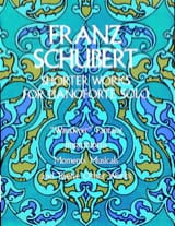 Franz Schubert - Shorter Works For Piano Solo - Partition - di-arezzo.fr
