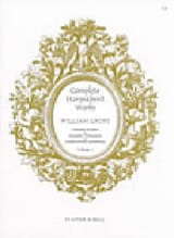 Complete Harpsichord Works Volume 2 William Croft laflutedepan.com