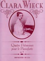 4 Polonaises Pour le Piano Forte Op. 1 Clara Schumann laflutedepan.com