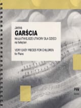 Very Easy Piano Pieces for Children Janina Garscia laflutedepan.com