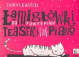 Janina Garscia - Teasers Op. 23 - Partition - di-arezzo.fr