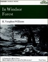 In Windsor Forest WILLIAMS VAUGHAN Partition Chœur - laflutedepan