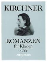 Theodor Kirchner - Romances Opus 22 - Sheet Music - di-arezzo.co.uk