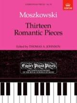 13 Romantic Pieces Moritz Moszkowski Partition laflutedepan.com