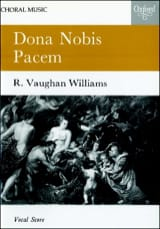 Dona Nobis Pacem WILLIAMS VAUGHAN Partition Chœur - laflutedepan