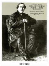 Quelques Riens Pour Piano - Gioachino Rossini - laflutedepan.com
