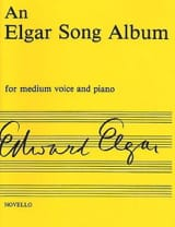 An Elgar Song Album Edward Elgar Partition Mélodies - laflutedepan.com