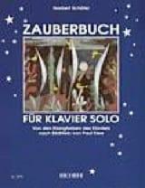 Zauberbuch - Norbert Schäfer - Partition - Piano - laflutedepan.com