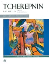 Bagatelles Op. 5 Alexandr Tcherepnine Partition laflutedepan.com