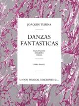 Danzas Fantasticas Opus 22 Joachim Turina Partition laflutedepan.com
