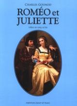 Roméo et Juliette GOUNOD Partition Opéras - laflutedepan