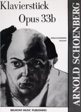 Arnold Schoenberg - Klavierstück Opus 33b - Sheet Music - di-arezzo.co.uk