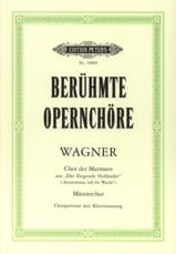 Chor Der Matrosen Extrait Du Vaisseau Fantôme - laflutedepan.com