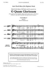 O Quam Gloriosum Tomas Luis de Victoria Partition laflutedepan.com