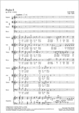 Ludwig Spohr - Psaume 8 opus 85-1 - Partition - di-arezzo.fr