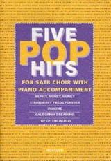 5 Pop Hits - Partition - Chœur - laflutedepan.com