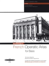 French Operatic Arias Basse Partition Opéras - laflutedepan.com