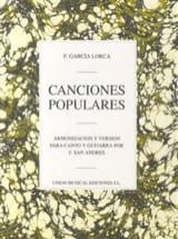 Lorca Federico Garcia - 9 Canciones Populares - Sheet Music - di-arezzo.co.uk