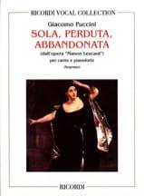 Sola, Perduta, Abbandonata. Manon Lescaut. laflutedepan.com