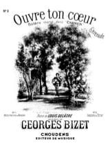 BIZET - Open your heart. Aloud - Sheet Music - di-arezzo.com