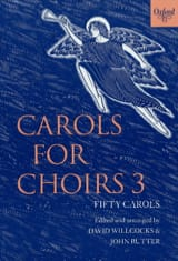 Carols For Choirs Volume 3 Partition Chœur - laflutedepan.com