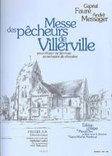 Messe des Pêcheurs de Villerville FAURE - MESSAGER laflutedepan.com