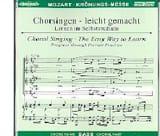 Krönungs-Messe KV 317. CD Basse - MOZART - laflutedepan.com