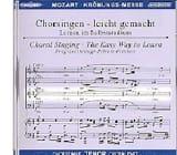 Krönungs-Messe. KV 317 CD Ténor MOZART Partition laflutedepan.com